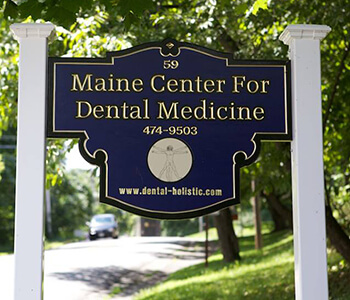 Maine Center for Dental Medicine Billboard
