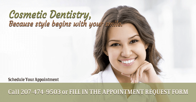 Cosmetic dentistry – because style begins with your smile.