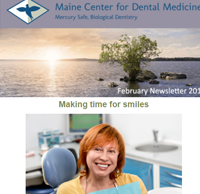 Dr. Imam Mohammed , Maine Center for Dental Medicine Newsleetr For 2017 February