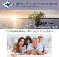 Dr. Imam Mohammed , Maine Center for Dental Medicine Newsleetr For 2017 March