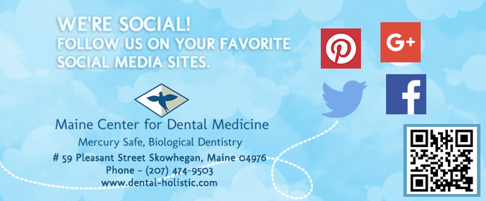 Follow Us on Social Media, Maine Center for Dental Medicine